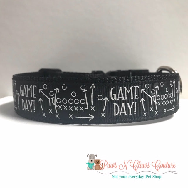 "1"" Game Day Dog Collar"