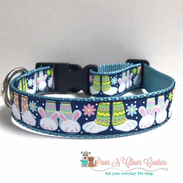 "1"" Bunny Slippers Dog Collar"