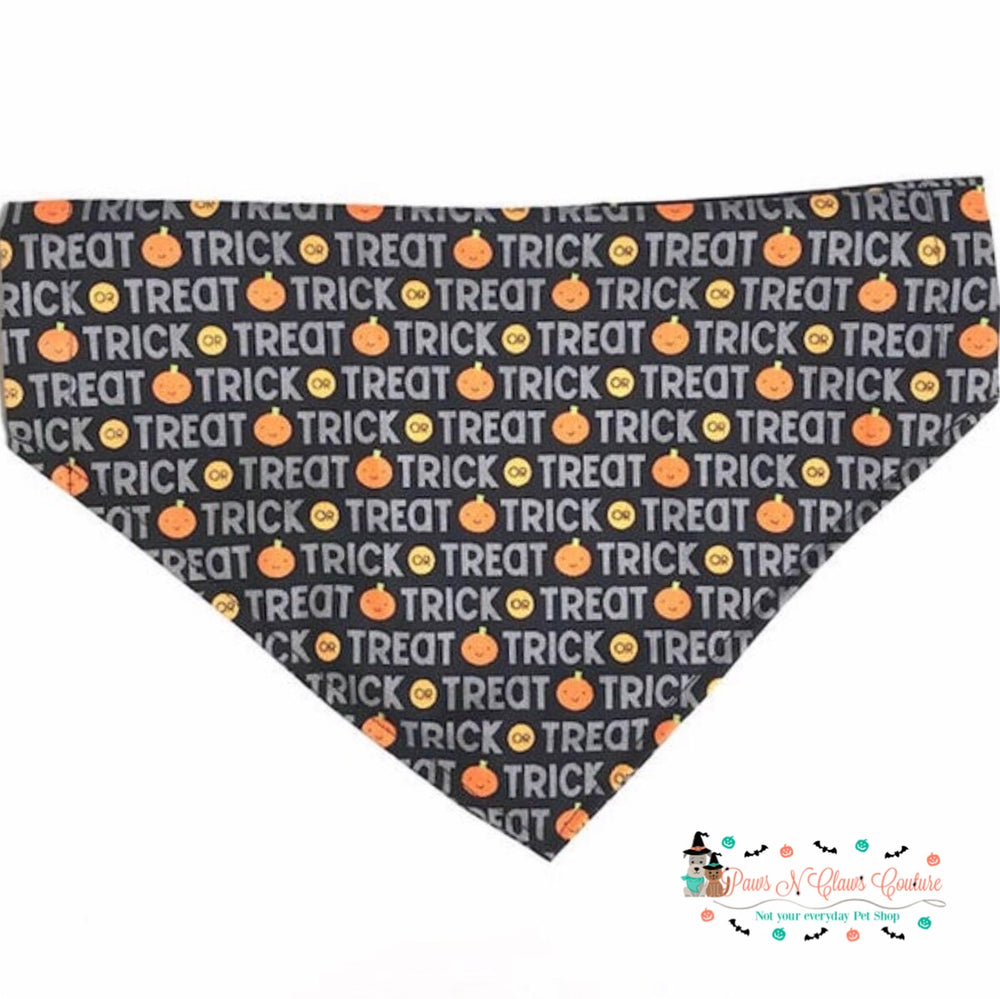Trick or treat Bandana - Paws N Claws Couture