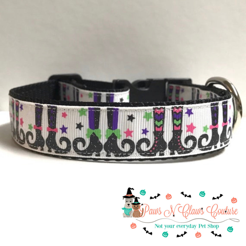 "1"" If the boot fits Dog Collar - Paws N Claws Couture"