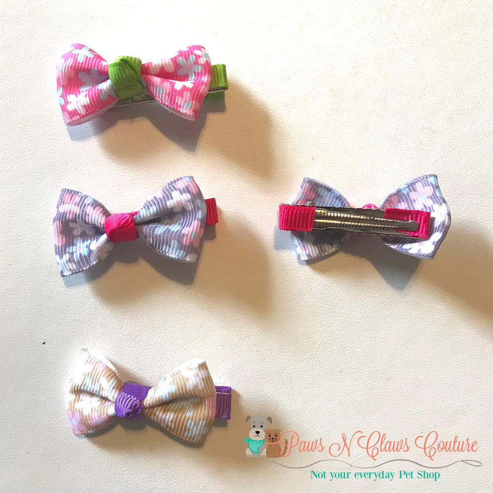 Mini flowers Hair Clips