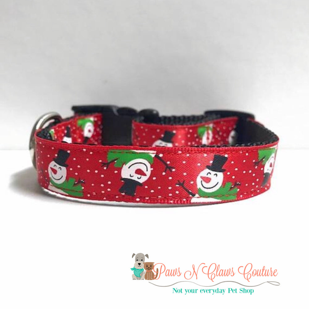 "5/8"" Snow much fun Dog Collar"