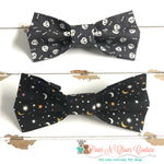 Bones or Moon and stars Bow Ties - Paws N Claws Couture