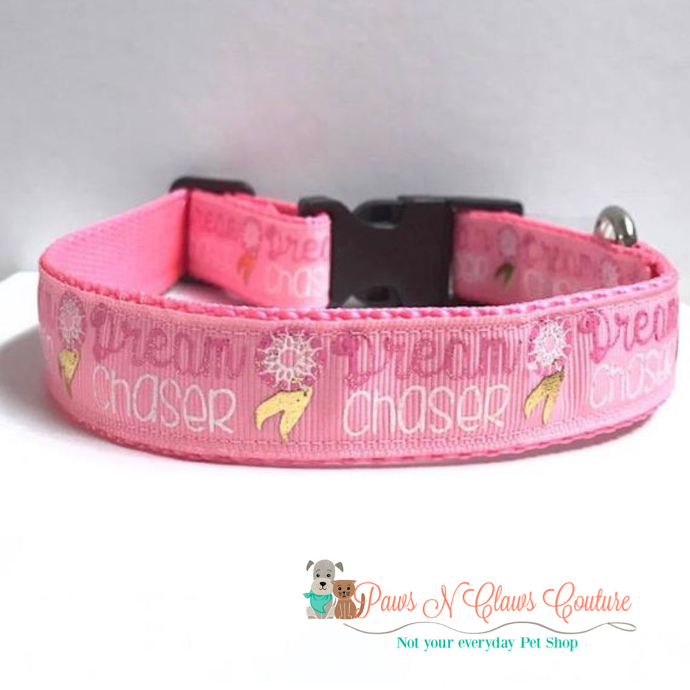 "1"" Dream chaser Dog Collar"
