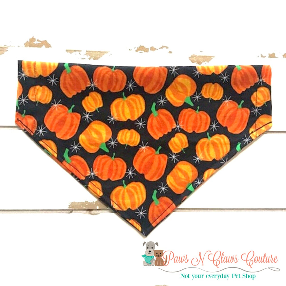 Pumpkins and stars Bandana - Paws N Claws Couture