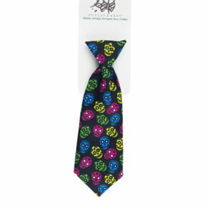 Sugar skull Tie - Paws N Claws Couture
