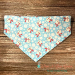 Snowmen and polka dots Bandana