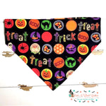 Trick or treat bubbles Bandana - Paws N Claws Couture