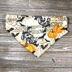 Bats and pumpkins Bandana - Paws N Claws Couture