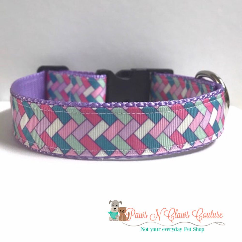 "1"" Follow the brick road Dog Collar - Paws N Claws Couture"