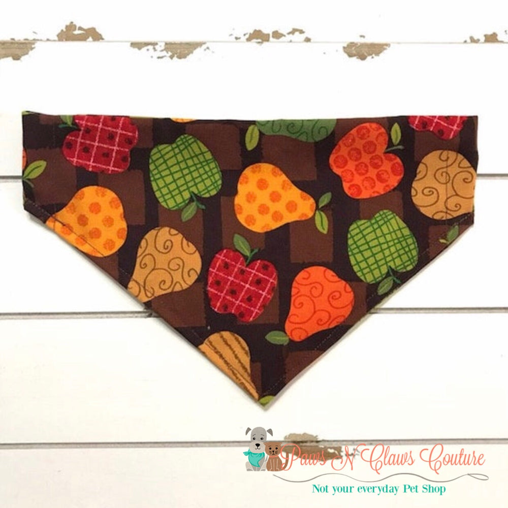 Fall fruit Bandana - Paws N Claws Couture