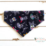 Skeleton pups Bandana - Paws N Claws Couture