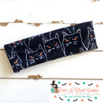Black cat Headband - Paws N Claws Couture