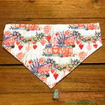 Mason jar love Bandana - Paws N Claws Couture