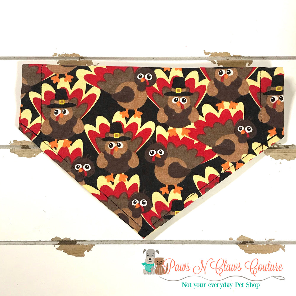 Pilgrim turkeys Bandana - Paws N Claws Couture