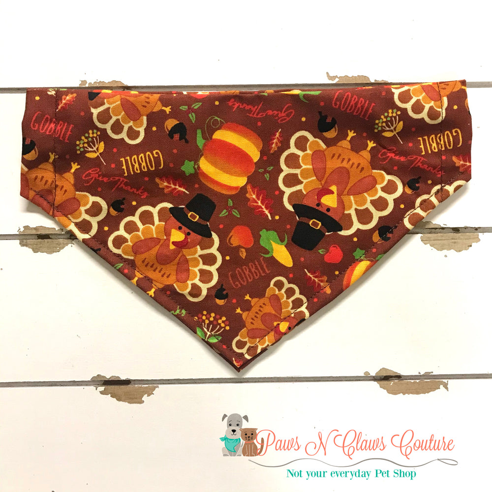 Gobble Bandana - Paws N Claws Couture