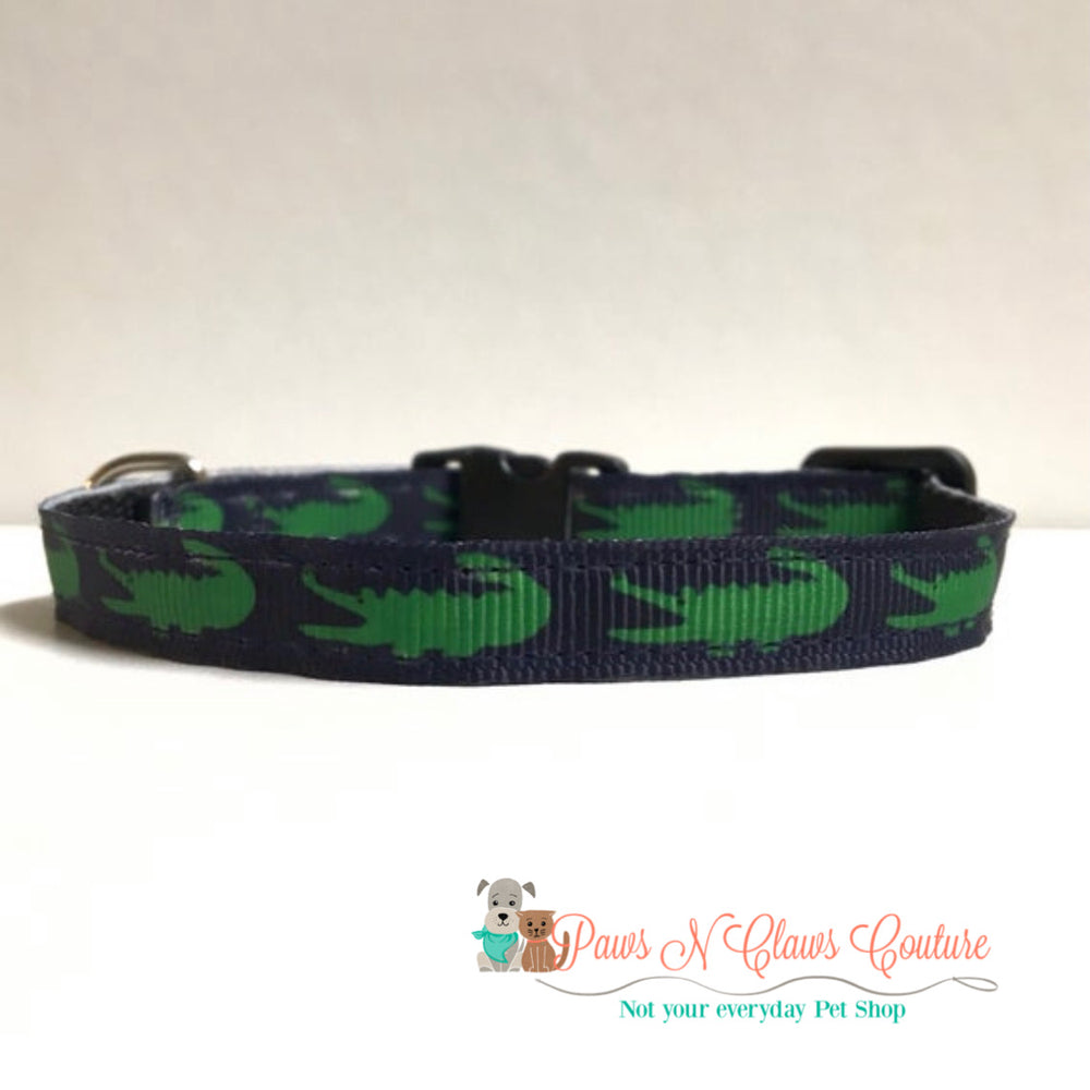 "3/8"" Crocs Cat or Small Dog Collar"