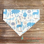 Winter blue animals Bandana - Paws N Claws Couture