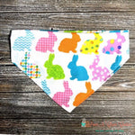Designer Easter Bunny Bandana - Paws N Claws Couture