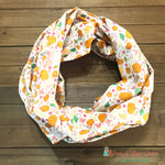 Pumpkins and squirrels Scarf or Bandana - Paws N Claws Couture