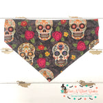 Day of the dead Bandana - Paws N Claws Couture