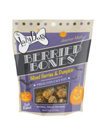 Berried Bones 5 oz Mixed Berries & Pumpkin Treats by Lazy Dog - Paws N Claws Couture