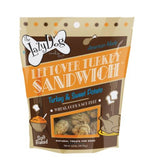 Leftover Turkey Sandwich 5 oz Turkey and Sweet Potato Treats by Lazy Dog