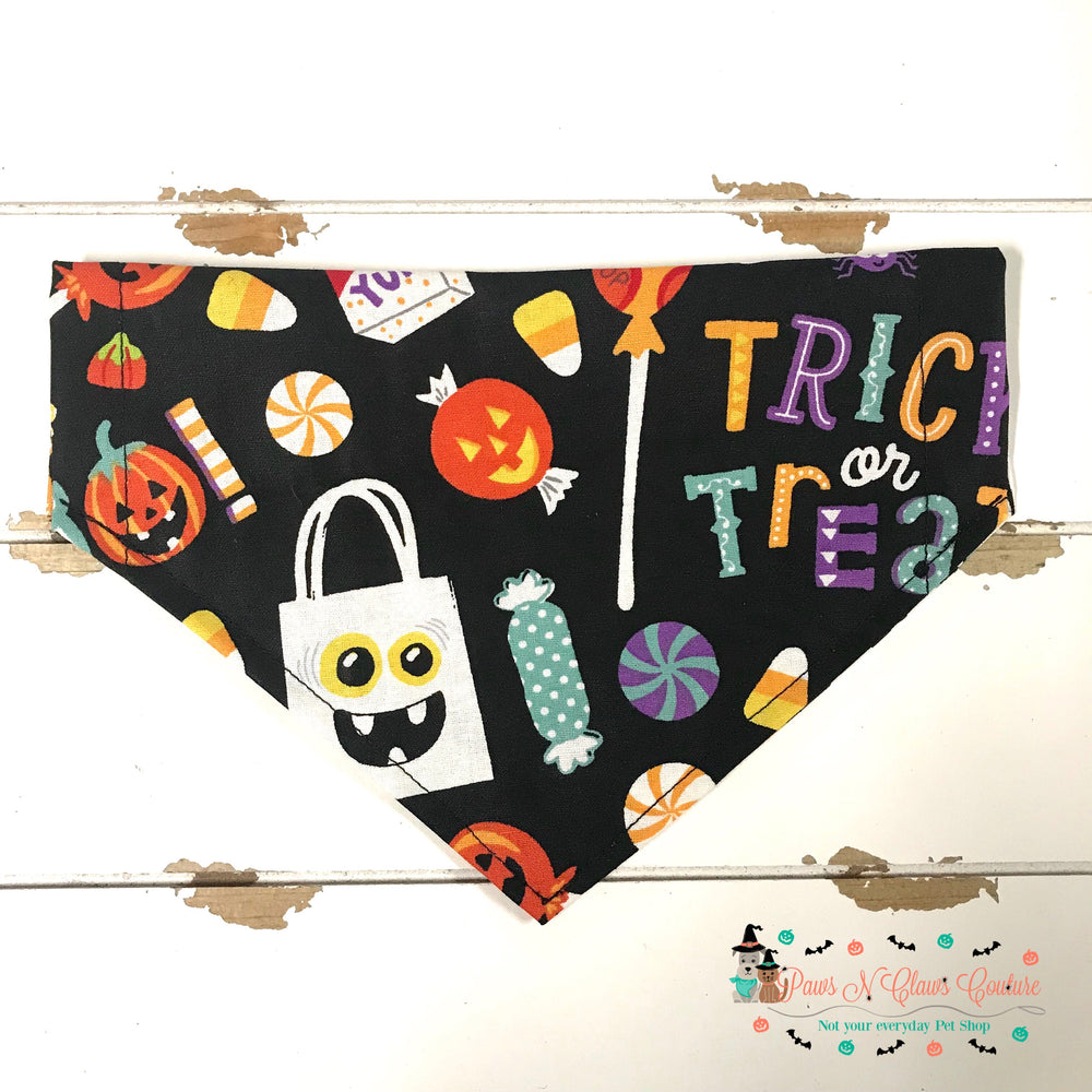 Halloween candy Bandana - Paws N Claws Couture