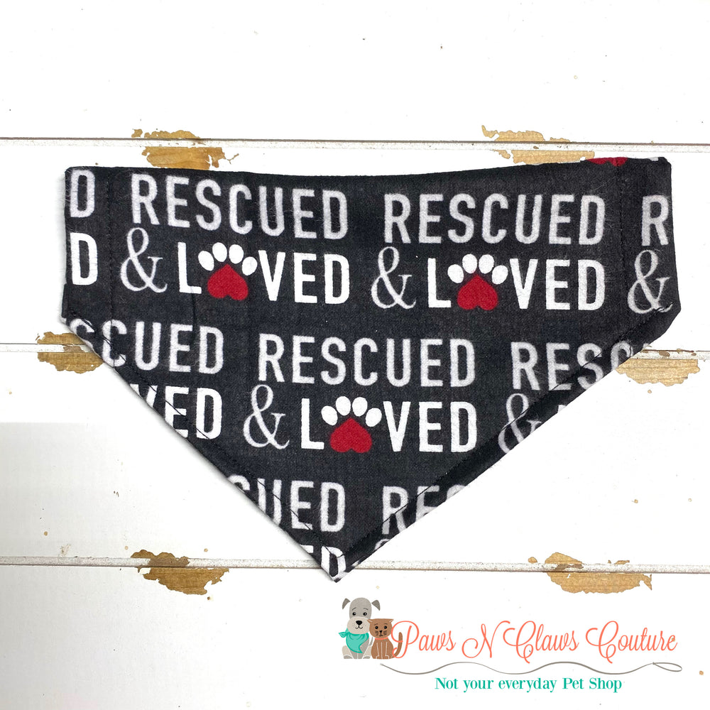 Rescued and Loved Bandana