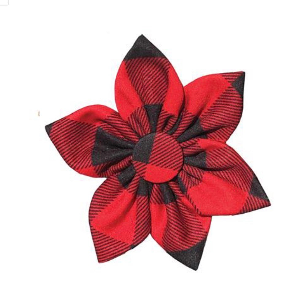 Buffalo Check Pinwheel by Huxley & Kent - Paws N Claws Couture