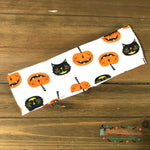 Black cat and pumpkins Headband