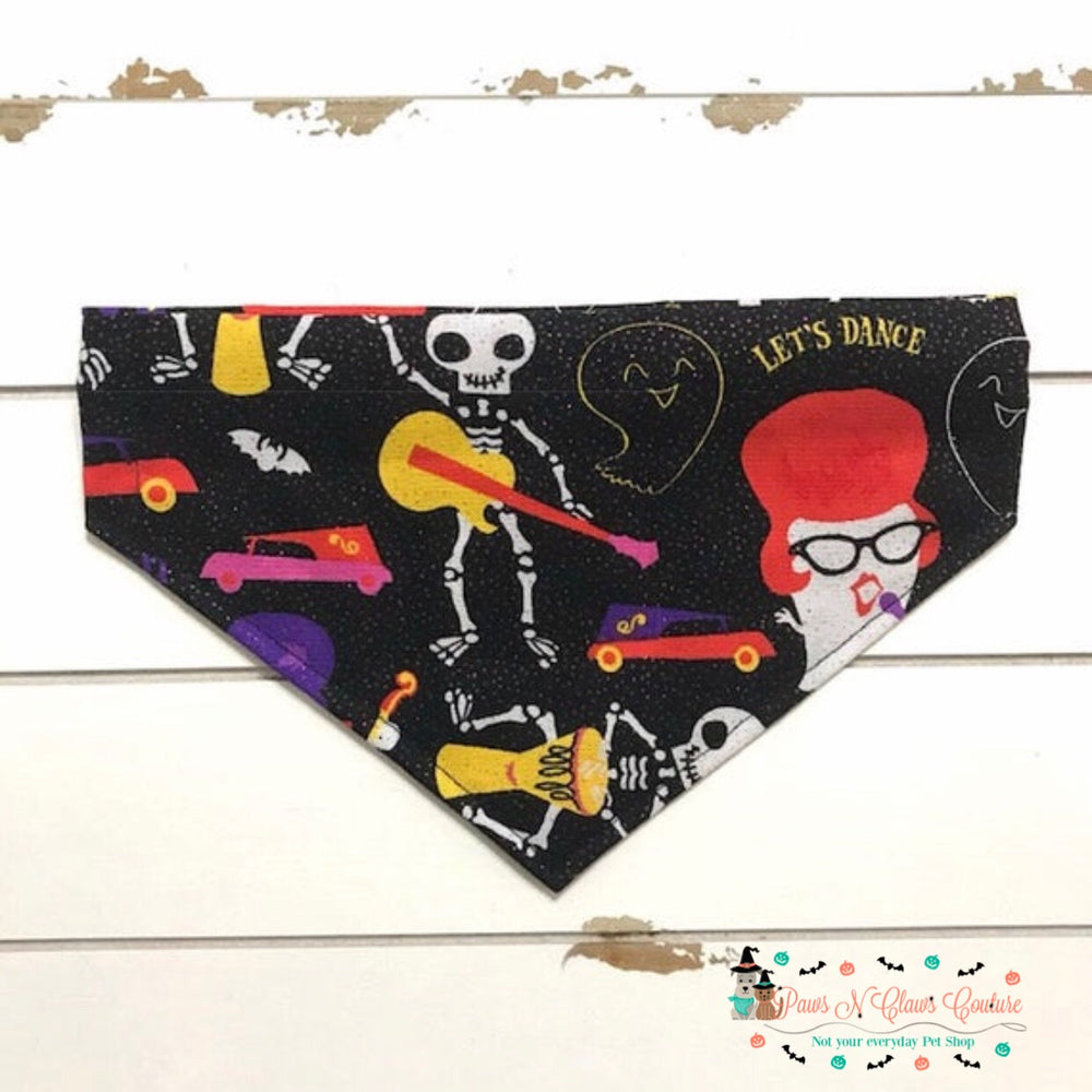 Monster dance party Bandana - Paws N Claws Couture