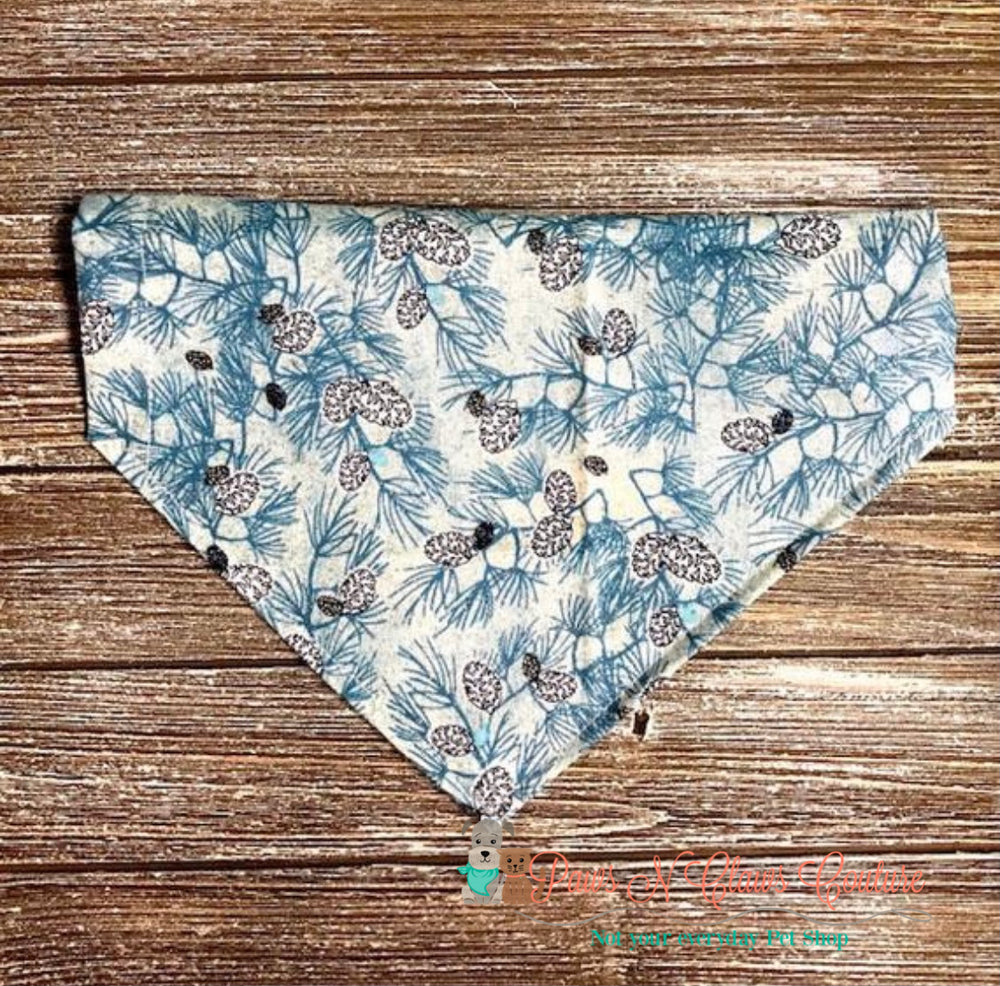 Glitter pinecone Bandana - Paws N Claws Couture