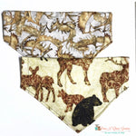 Reversible animals of the forest Bandana