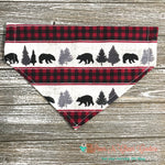 Forest bears Bandana - Paws N Claws Couture