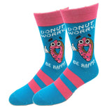 Donut Worry Be Happy Socks