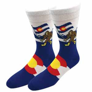 Colorado Bigfoot Socks