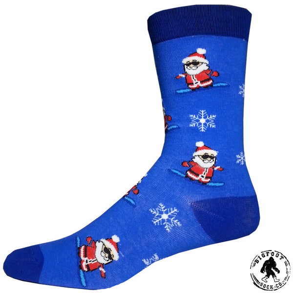 Shreddin' Santa Socks