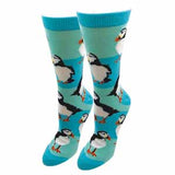 Ladies Puffin Socks