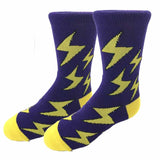 Lightning Bolt Kids Socks