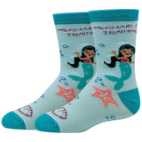 Mermaid In Training Kids Socks