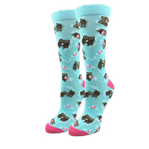 Flamingo Wave Socks