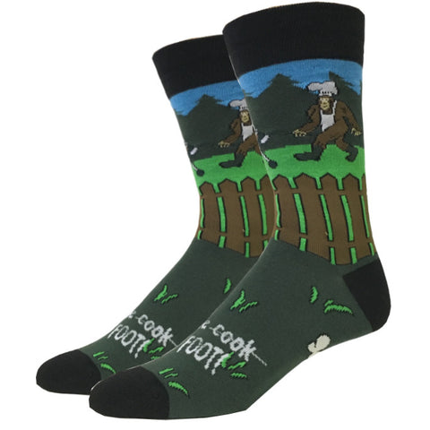 Golfing Bigfoot Socks