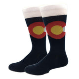 Colorado Flag Socks
