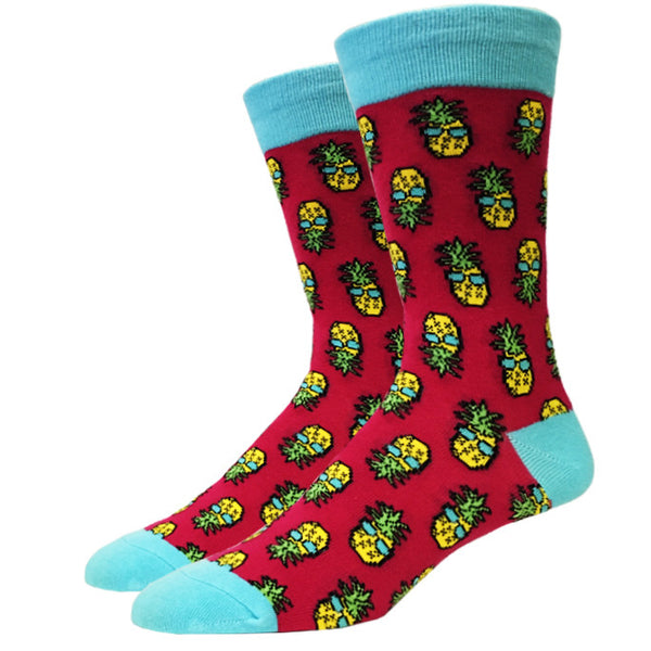 Ms. Retro Pineapple Socks
