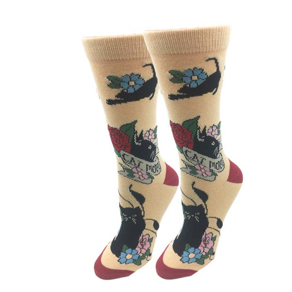 Cat Mom Socks