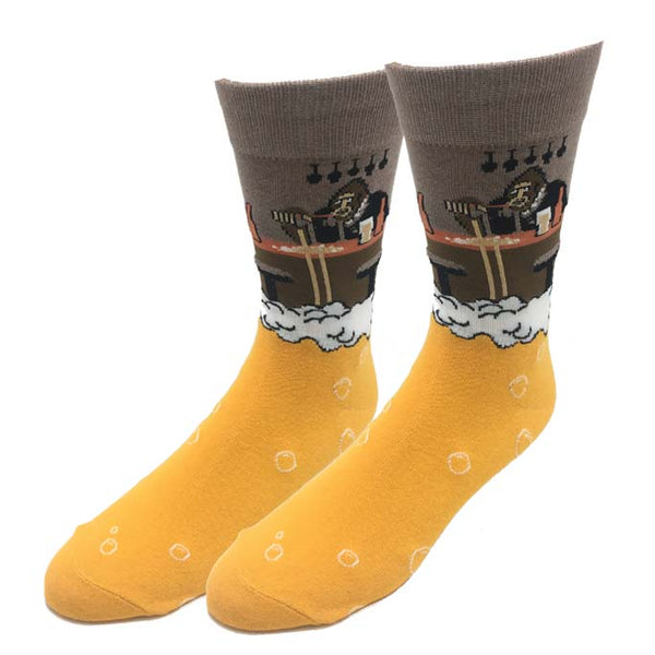 Bartender Bigfoot Socks