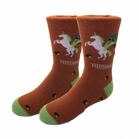 Squirrel Nuts Kids Socks
