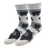 Bear Pattern Socks