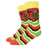Rasta Bigfoot Socks